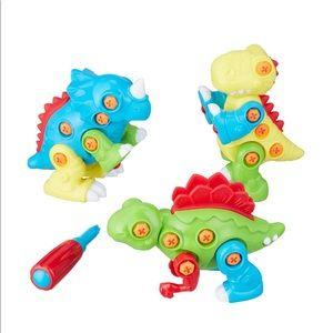 Spark. Create. Imagine 4-Piece Take Apart Dinosaur